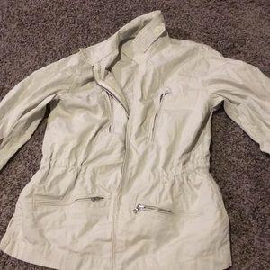 Powdered Grey Gap Utility Jacket